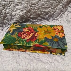 Other - Gorgeous Fabric Covered Jewelry Box